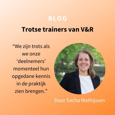 Trotse trainers van V&R