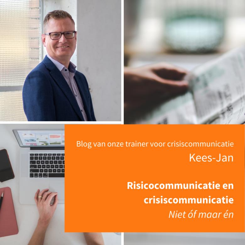 Risicocommunicatie en crisiscommunicatie: niet of maar en