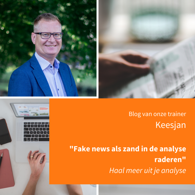 Fake news als zand in de analyse raderen