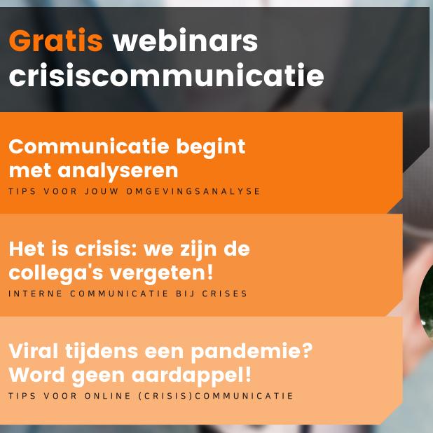 Webinars crisiscommunicatie