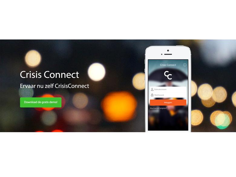 Download nu de gratis CrisisConnect demo