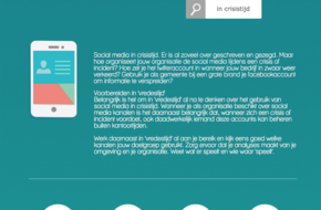 Social media in crisistijd